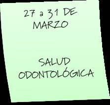 SALUD ODONTOLÓGICA