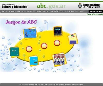 JUEGOS DEL SITIO ABC