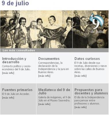 ESPECIAL HISTÓRICO DEL 9 DE JULIO