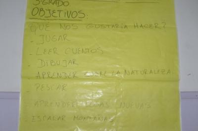 """3º - PROYECTO DE EDUCACIÓN FÍSICA """"CAMPAMENTO"""""""
