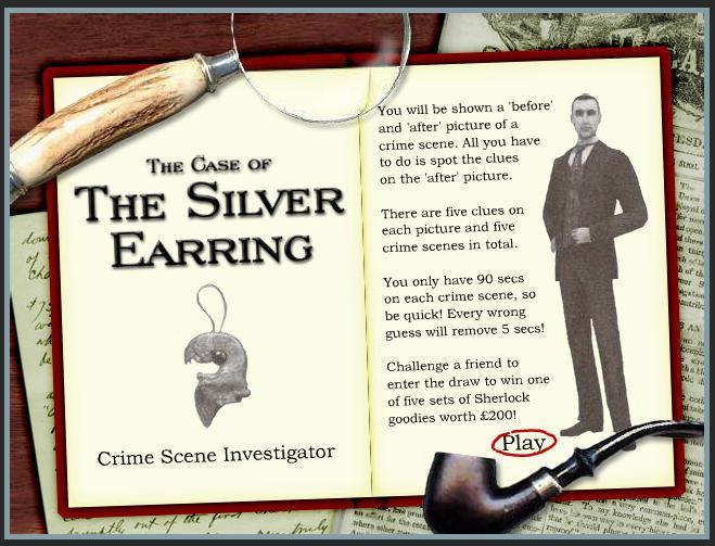 JUEGO: CRIME SCENE INVESTIGATOR