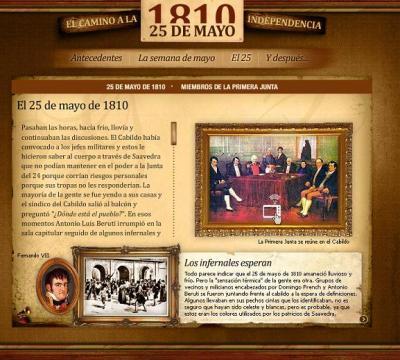 ¿QUÉ SUCEDIÓ UN 25 DE MAYO DE 1810?