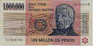 Billete de 1961 (hasta 1975)