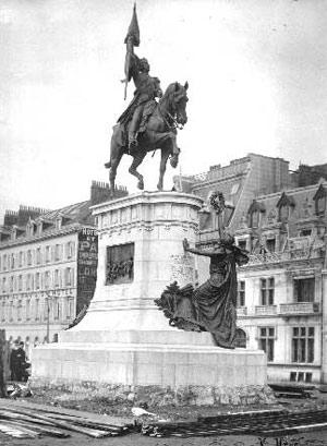 Estatua en Boulogne sur Mer, Francia