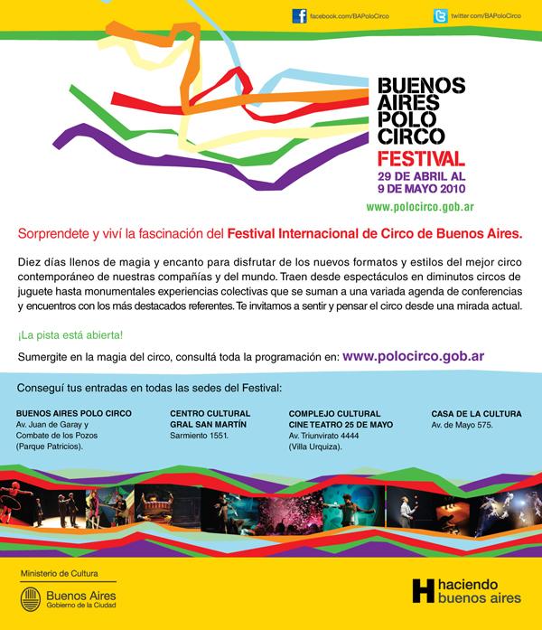 A disfrutar del 2° Festival Polo Circo