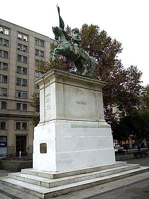 Monumento en Santiago de Chile